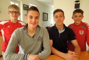 Florian und Anis sind im U17-Nationalteam eine fixe Grösse!