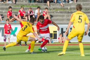 Fußball: FC Dornbirn - Spartak Moskau Dornbirn Birkenwiese