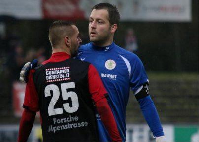 "Immer ein sicherer Rückhalt: Kapitän Dominik ""Seiwi"" Seiwald!"