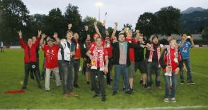 Unsere White Devils bei der VFV-CUP-Feier!