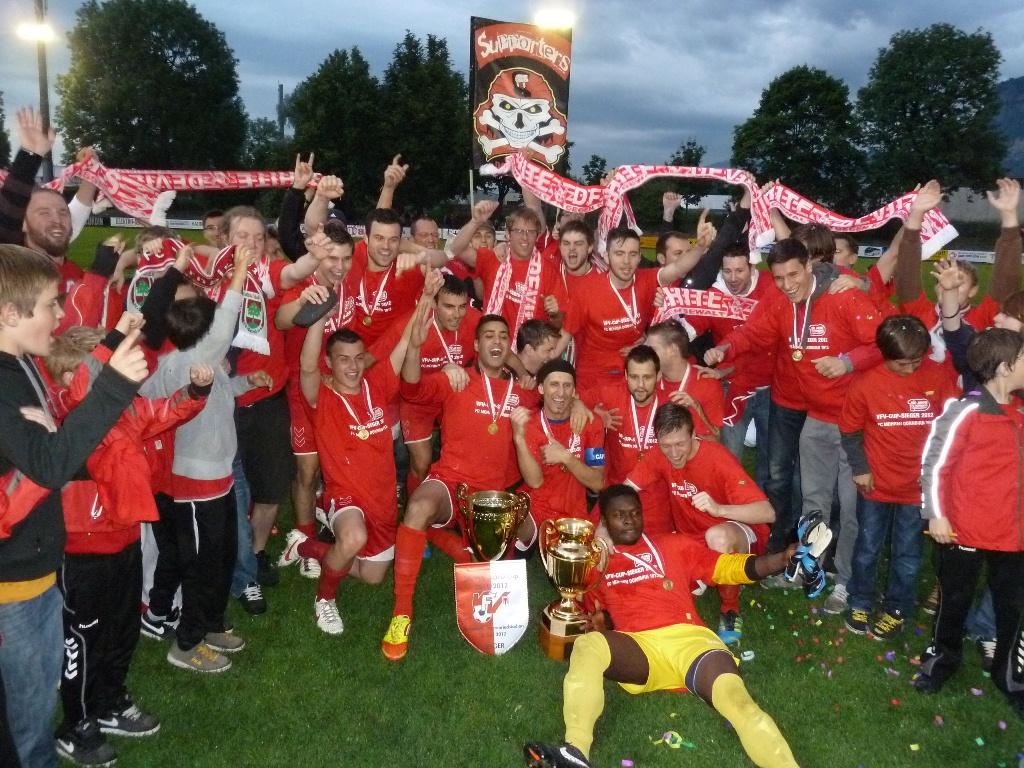 VFV-CUP-Sieger 2011/2012 - Titelverteidiger FC Mohren Dornbirn 1913!