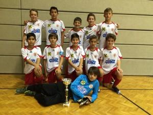 Unsere siegreichen Rothosen-U12-Jungs!
