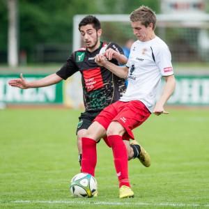 Marc Kühne spielt seit Wochen in Hochform. Gegen Wacker soll nochmals gepunktet werden.